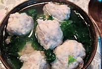 自制鱼滑丸子白菜汤(家常)的做法