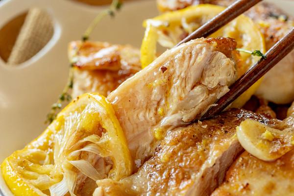柠檬脆皮鸡扒丨酸甜开胃