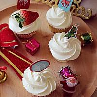 海绵纸杯蛋糕~圣诞节可爱小点心#九阳烘焙剧场#的做法图解15