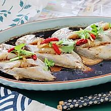【酱油豆腐蒸鲳鱼】营养好做,胜过吃猪肉