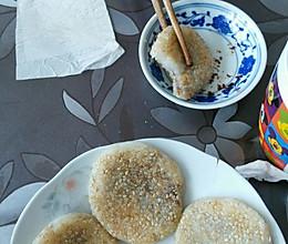 香煎红糖糯米饼的做法