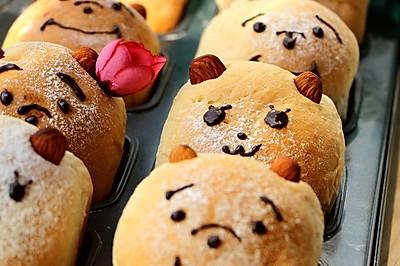 讨喜的面包---卡通小餐包