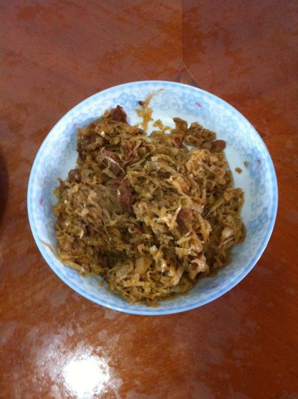 炒酸菜(东北酸菜)的做法