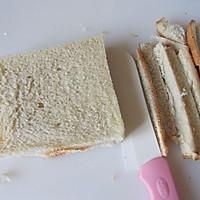 五分钟的营养能量早餐---鸡蛋三明治的做法图解5