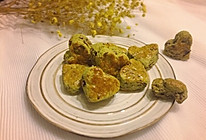 抹茶蜜豆司康饼的做法
