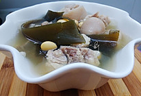 海带黄豆猪尾汤的做法