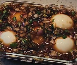 比水煮蛋更好吃的麻药鸡蛋的做法