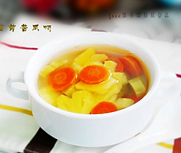 菠萝苦瓜汤的做法