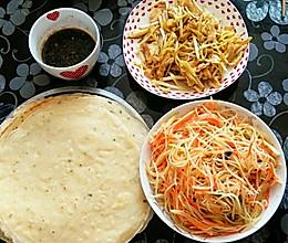 好吃的好做的煎饼卷菜的做法