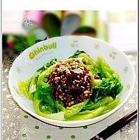 蒜蓉蚝油生菜的做法图解5