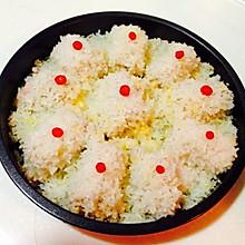 芝士糯米肉卷