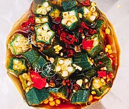 凉菜系列—凉拌秋葵的做法