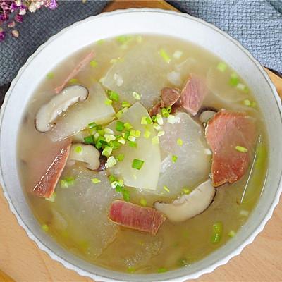 冬瓜火腿汤