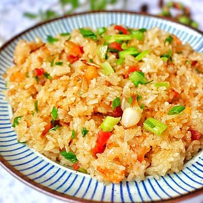 广式腊味糯米饭