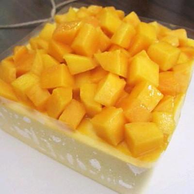 【芒果冻芝士蛋糕】与买来的味道一模一样~