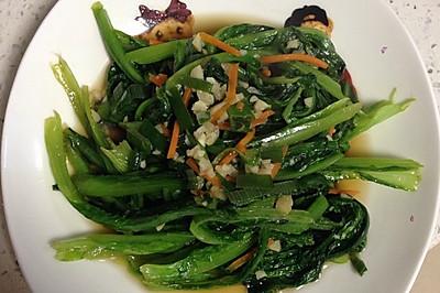 蒜蓉油麥菜(快手菜)