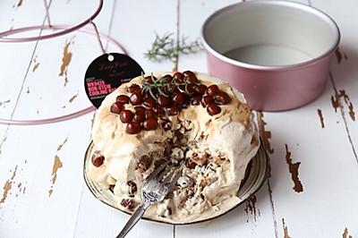 红茶珍珠爆浆蛋糕: