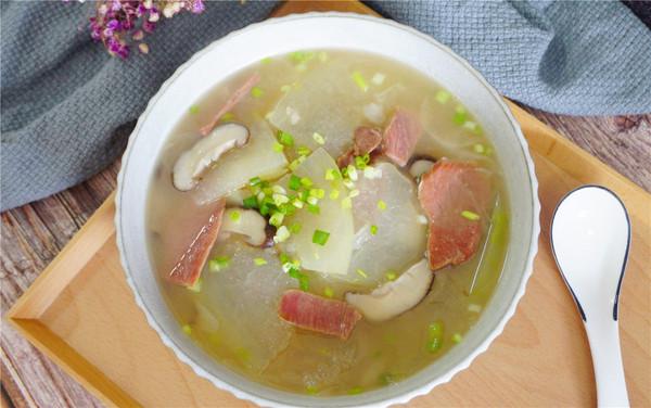 冬瓜火腿汤的做法