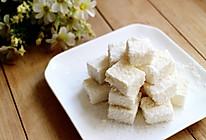 豆奶椰丝小方的做法