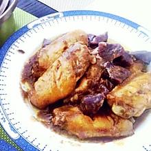 紫薯咖喱鸡翅
