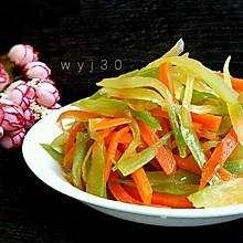 开胃小菜 -- 凉拌莴笋丝