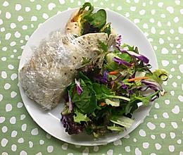 健康藜麦蔬菜南瓜鸡蛋卷+#春天不减肥,夏天肉堆堆#的做法