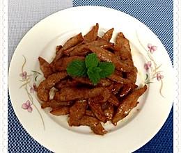 蜜汁猪颈肉的做法