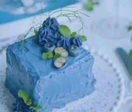 低脂海蓝芋泥蛋糕的做法
