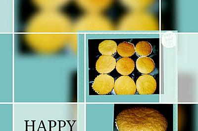 脆皮杯子蛋糕(胚子)