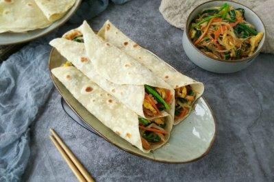 春饼卷合菜-品尝春韭菜的鲜