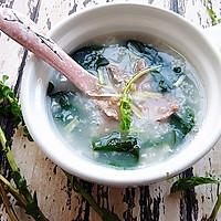 枸杞叶猪肝粥#柏翠辅食节-营养佐餐#