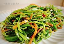 橄榄菜拌荷兰豆的做法