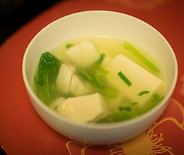 鳕鱼豆腐汤的做法