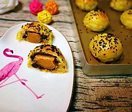 手抓饼做【蛋黄酥】的做法