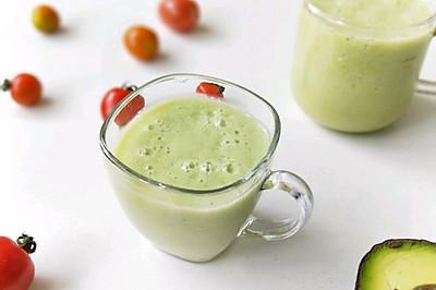 牛油果香蕉果汁