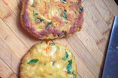 蔬菜玉米贴饼子