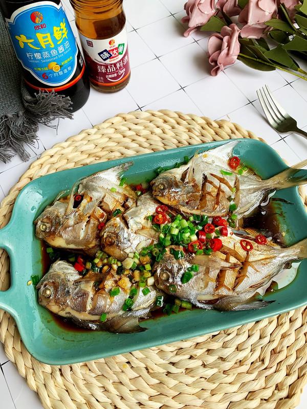 简单快手清蒸鲳鱼的做法