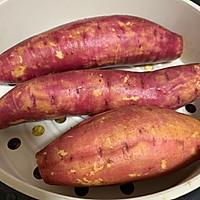 电饭煲蒸红薯的做法图解3