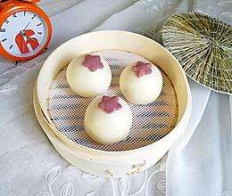 奶香紫薯包#柏翠辅食节–营养佐餐#的做法