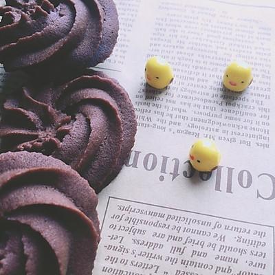 巧克力曲奇(超好挤)