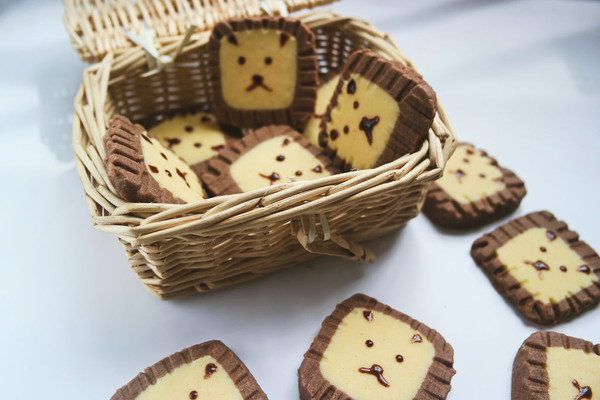 狮子饼干#最萌缤纷儿童节#的做法