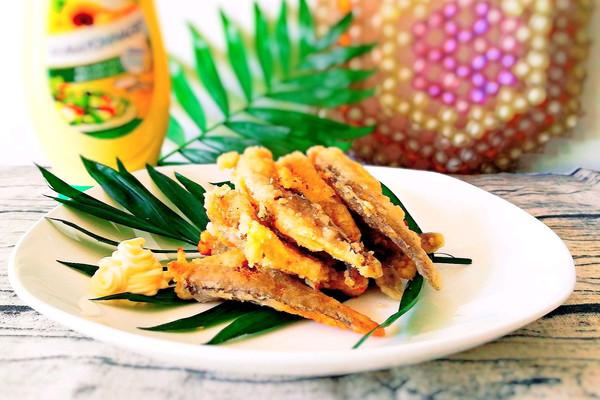 佐酒零食-蛋黄酱小黄鱼#法国乐禧瑞,调味百年之巅#的做法