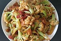 小炒菜花的做法