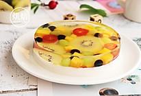 白凉粉水果蛋糕的做法