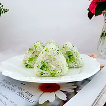 #夏日消暑,非它莫属#西兰花饭团
