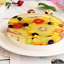 白凉粉水果蛋糕