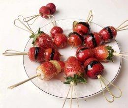 2分钟学会制作网红迷你糖葫芦的做法