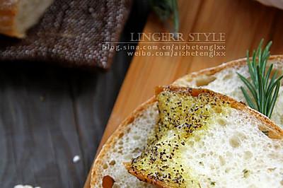 迷迭香面包