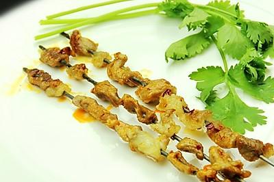 家庭烤羊肉串
