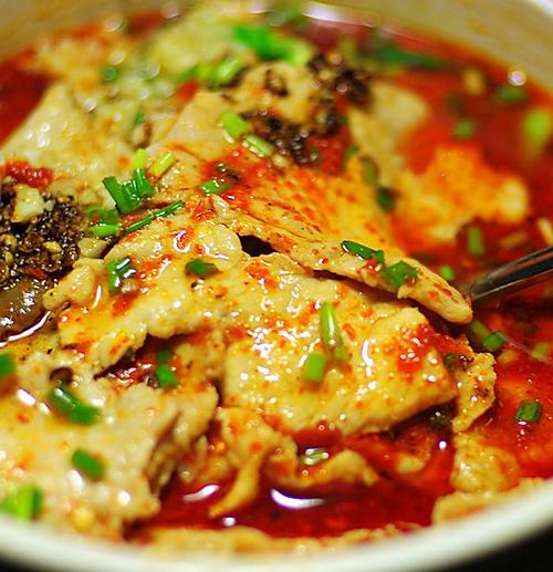 传统水煮肉片的做法
